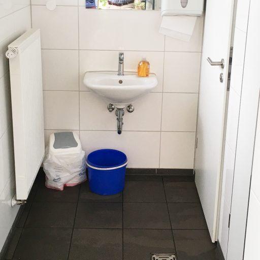 Mädchen Toilette