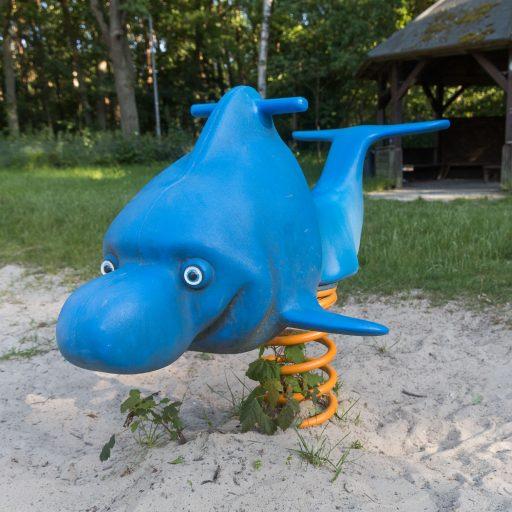 Delfin-Wippe