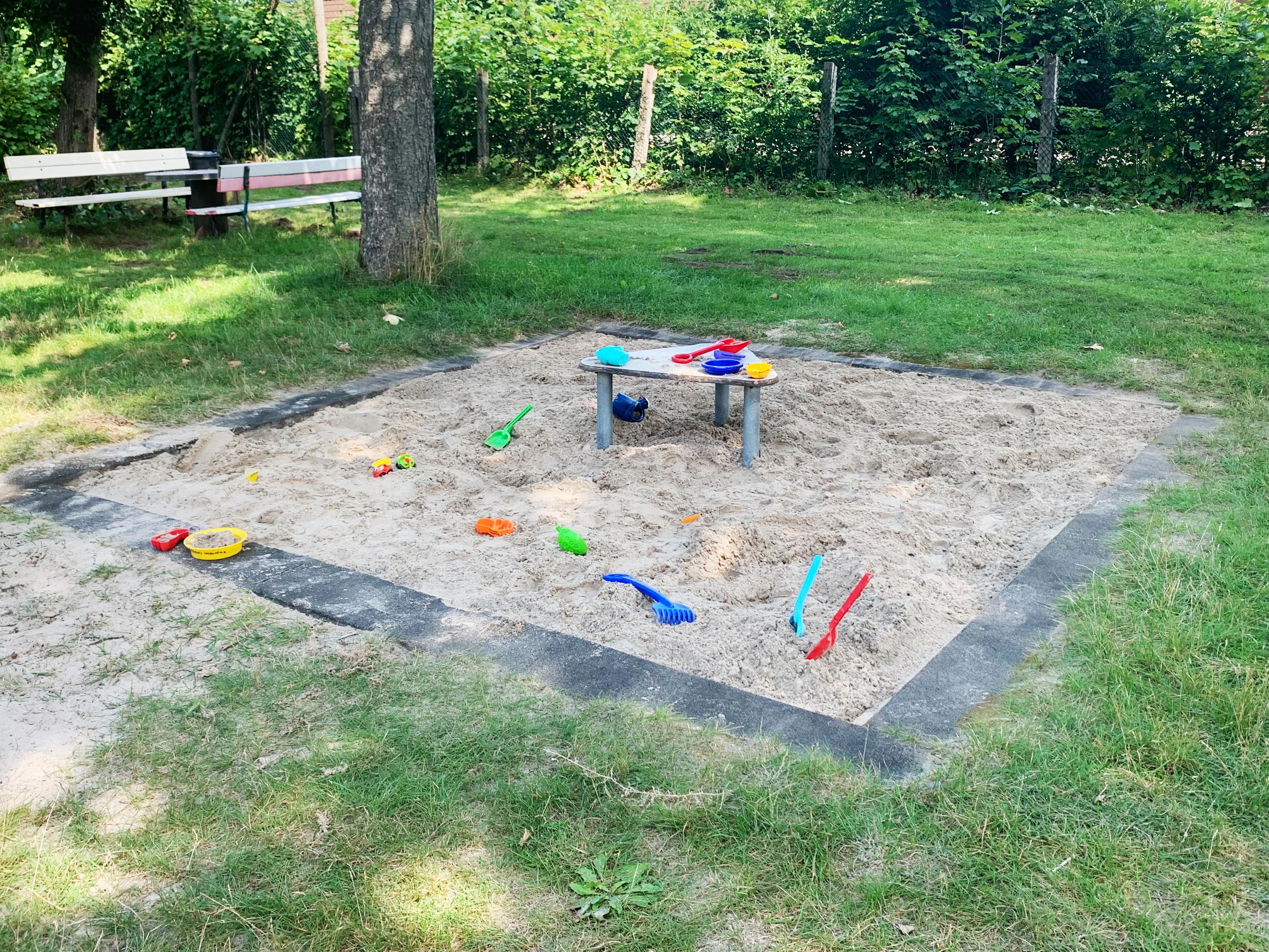 Sandkasten Platzaktion